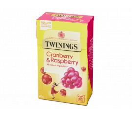 Twinings Infusion Cranberry & Raspberry 4x20s - Bulkbox Wholesale