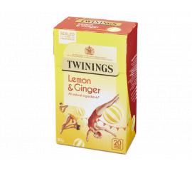 Twinings Infusion Lemon & Ginger 4x20s - Bulkbox Wholesale