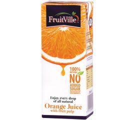 Fruitville Orange Juice Tetra - Bulkbox Wholesale