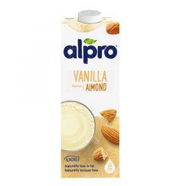 Alpro Original Almond Vanilla Milk 8x1L - Bulkbox Wholesale