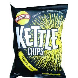 Kettle Cooked Potato Crisps Lemon & Chilli - Bulkbox Wholesale
