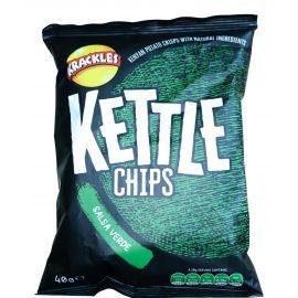 Kettle Cooked Potato Crisps Salsa Verde - Bulkbox Wholesale