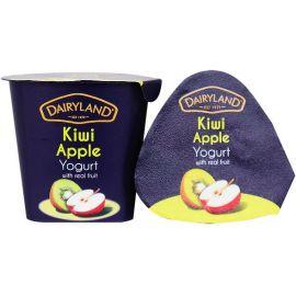 Dairyland Kiwi Apple Yoghurt 12x150g - Bulkbox Wholesale