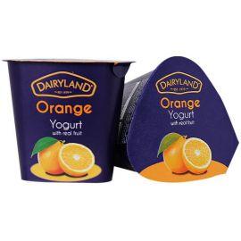 Dairyland Orange Yoghurt 12x150g - Bulkbox Wholesale