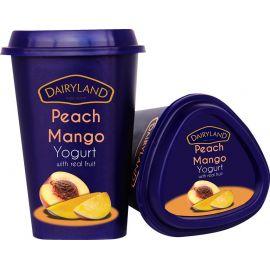 Dairyland Peach Mango Yoghurt 6x550g - Bulkbox Wholesale