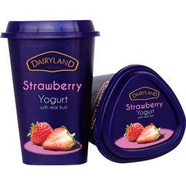 Dairyland Strawberry Yoghurt 6x550g - Bulkbox Wholesale