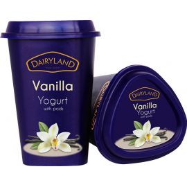Dairyland Vanilla Yoghurt with Pods 6x550g - Bulkbox Wholesale