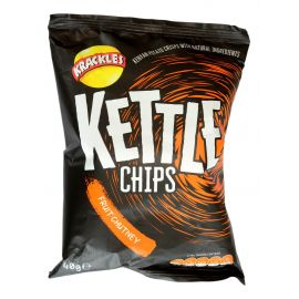 Kettle Cooked Potato Crisps Fruit Chutney - Bulkbox Wholesale
