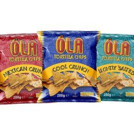 Ola Tortilla Chips Assorted - Bulkbox Wholesale