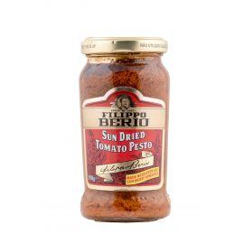 Filippo Berio Sun Dried Tomato Pesto Sauce 6x190g - Bulkbox Wholesale