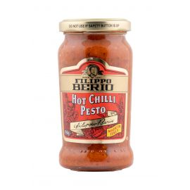 Filippo Berio Hot Chilli Pesto Sauce 6x190g - Bulkbox Wholesale