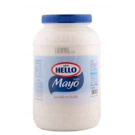 Hello Light Mayonnaise 4x3.78L - Bulkbox Wholesale