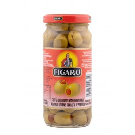 Figaro Green Pitted Olives 12x340g - Bulkbox Wholesale