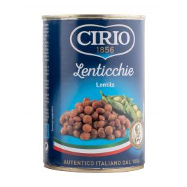 Cirio Lentils 12x410g - Bulkbox Wholesale