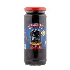 Borges Black Whole Olives 12x330g - Bulkbox Wholesale