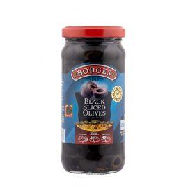 Borges Green Sliced   Olives 12x240g - Bulkbox Wholesale