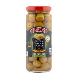 Borges Green Pitted Olives 12x350g - Bulkbox Wholesale