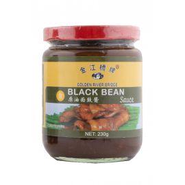 Golden River Bridge Black Bean Sauce 24x230g - Bulkbox Wholesale