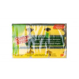 Scotch Brite Heavy Duty Laminate  - Nail saver 9'S 16 Packs - Bulkbox Wholesale