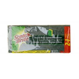 Scotch Brite Heavy Duty Laminate  - Nail saver 2+1 Free 24 Packs - Bulkbox Wholesale
