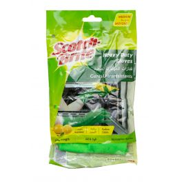 Scotch Brite Heavy-Duty Maximum Strength Gloves - Medium 24 Pairs - Bulkbox Wholesale