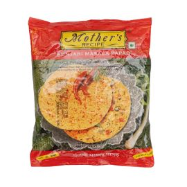 Mother's Recipe Punjabi Masala Papad 80x200g - Bulkbox Wholesale