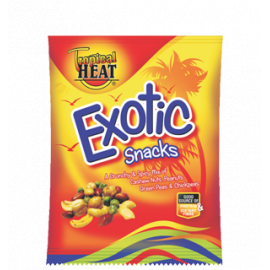 Tropical Heat Exotic Snacks 12 x 70g - Bulkbox Wholesale