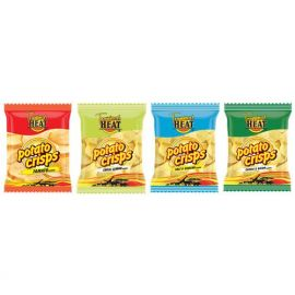 Tropical Heat Potato Crisps - Assorted - Bulkbox Wholesale