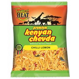 Tropical Heat Kenyan Chevda - Chilli Lemon 6 x 340g - Bulkbox Wholesale
