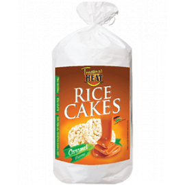 Tropical Heat Rice Cakes - Caramel Flavor - Bulkbox Wholesale