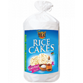Tropical Heat Rice Cakes - Salt & Vinegar Flavor - Bulkbox Wholesale