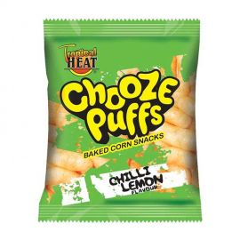 Tropical Heat Chooze Puffs Assorted - Bulkbox Wholesale