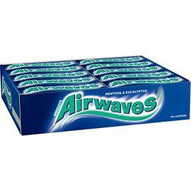 Wrigleys Airwaves Menthol & Eucalyptus 30 x 10Pcs - Bulkbox Wholesale