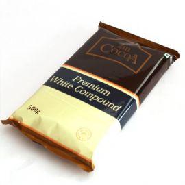 2M Cocoa White Compound Chocolate 20x500g - Bulkbox Wholesale