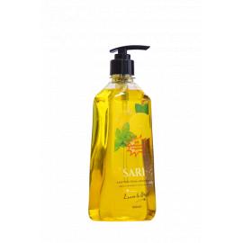 Sari Antibacterial Hand Wash - Lemon & Basil 6 x 500ml - Bulkbox Wholesale