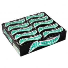 Wrigleys Airwaves Blackmint 30 x 10Pcs - Bulkbox Wholesale