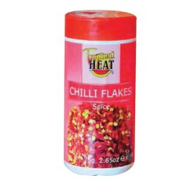Tropical Heat Chilli Flakes 6 x 75g - Bulkbox Wholesale