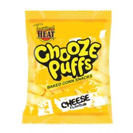 Tropical Heat Chooze Puffs - Cheese - Bulkbox Wholesale