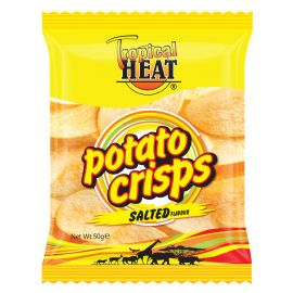 Tropical Heat Potato Crisps - Salted - Bulkbox Wholesale