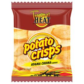 Tropical Heat Potato Crisps - Nyama Choma - Bulkbox Wholesale