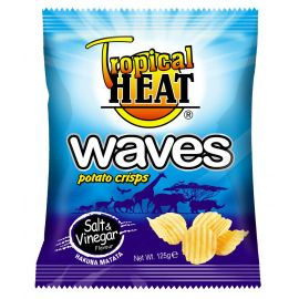 Tropical Heat Waves Crisps - Salt & Vinegar - Bulkbox Wholesale