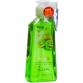 Sari Antibacterial  Hand Wash - Apple & Kiwi 6 x 500ml - Bulkbox Wholesale
