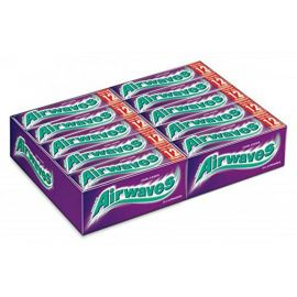 Wrigleys Airwaves Blackcurrant 30 x 10Pcs - Bulkbox Wholesale