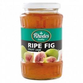 Rhodes Ripe Fig Fruit Jam  - Glass 12x460g - Bulkbox Wholesale