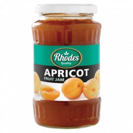 Rhodes Apricot Fruit Jam  - Glass 12x460g - Bulkbox Wholesale