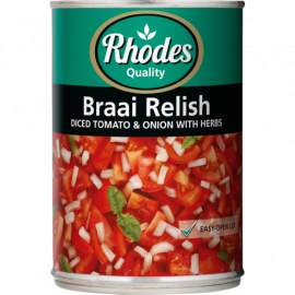 Tomato Braai Relish 12x410g - Bulkbox Wholesale