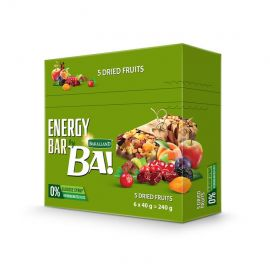 Bakalland Energy Bar 5 Dried Fruits 25x40g - Bulkbox Wholesale