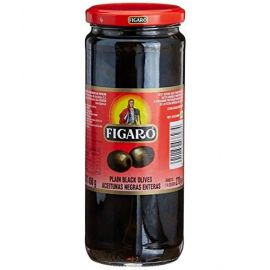 Figaro Black Pitted Olives 12x240g - Bulkbox Wholesale