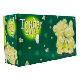 Tender Soft Facial Tissue Box 3 Ply 10x5x100's - Bulkbox Wholesale