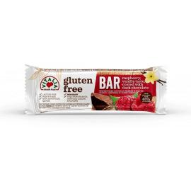 Vitalia Gluten Free Raspberry Vanilla & Dark Choc 24x35g - Bulkbox Wholesale